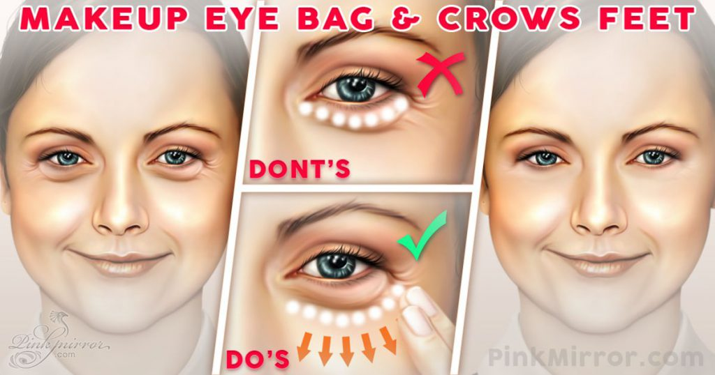 Concealing eyes and nose secrets and hacks from best makeup tips and tricks in Pakistan
