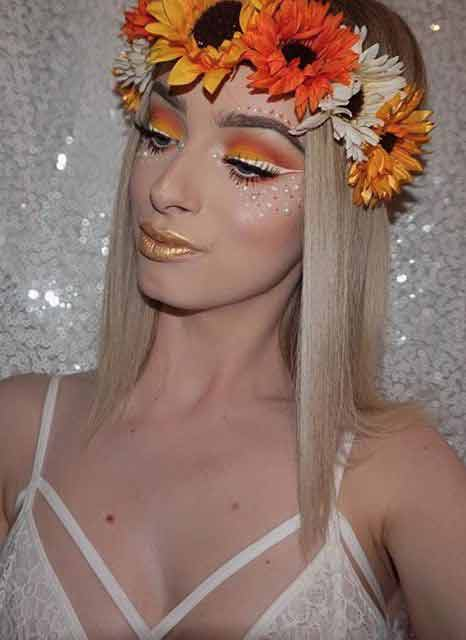 Pretty and easy Halloween makeup looks and ideas for girls in 2017