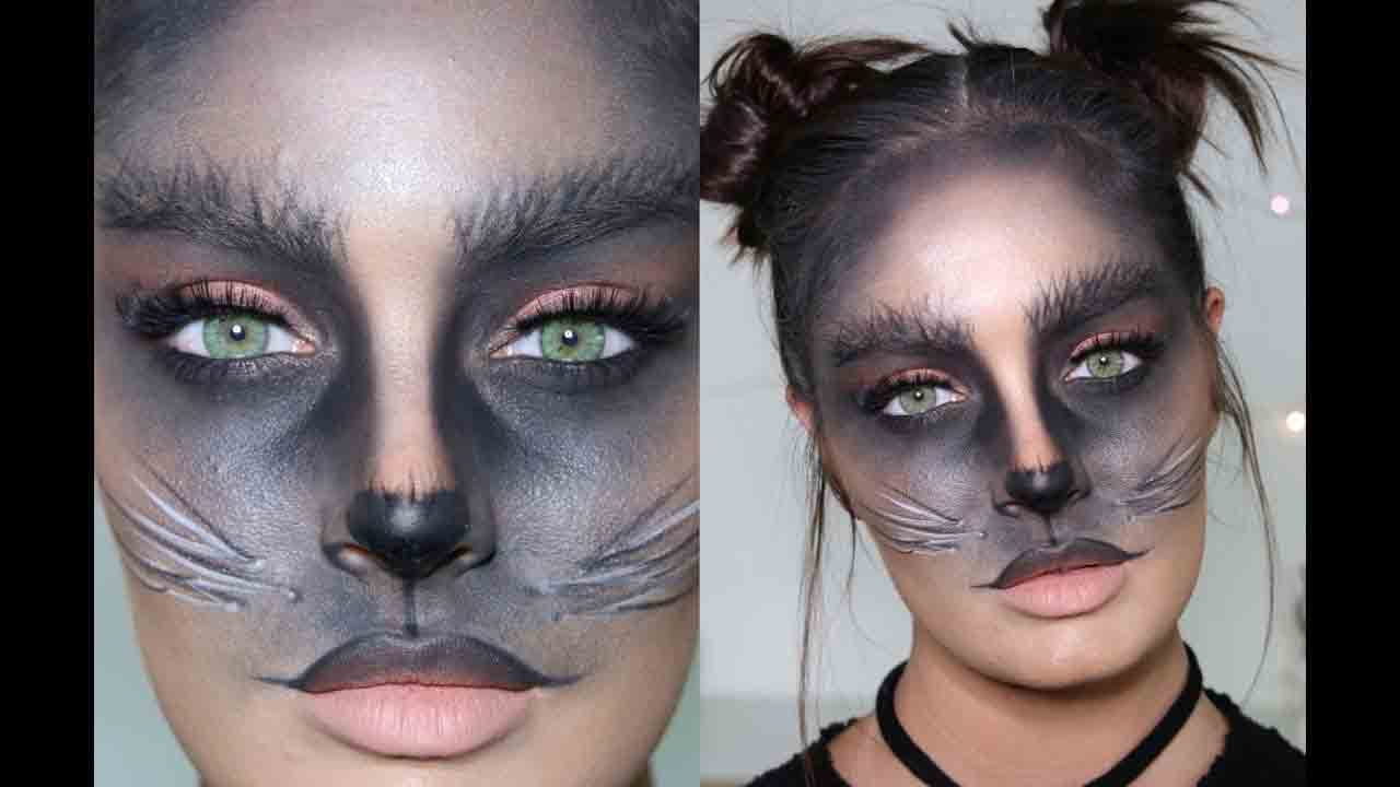 New style easy Halloween makeup looks and ideas for girls in 2017