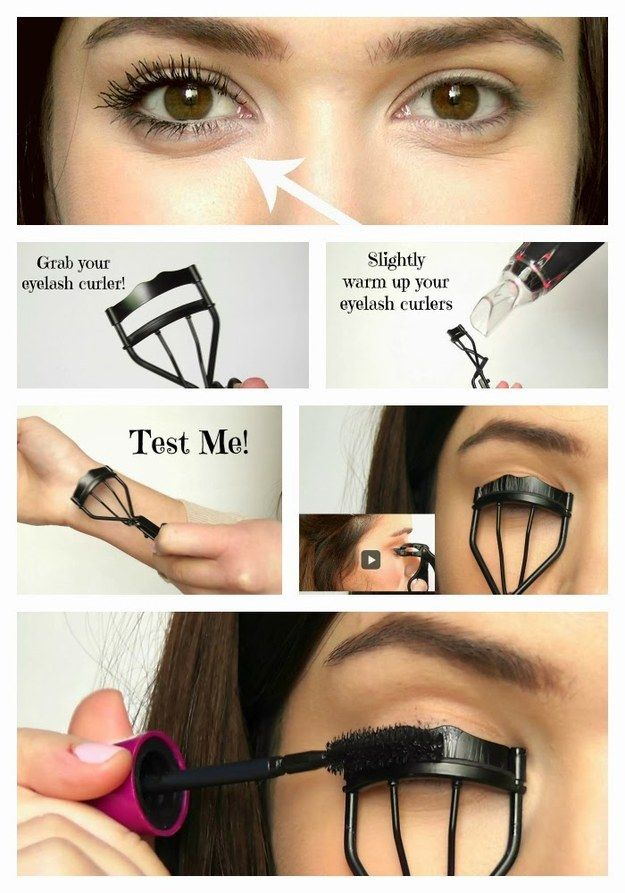 Heat your lash curler with hair dryer secrets and hacks from best makeup tips and tricks in Pakistan