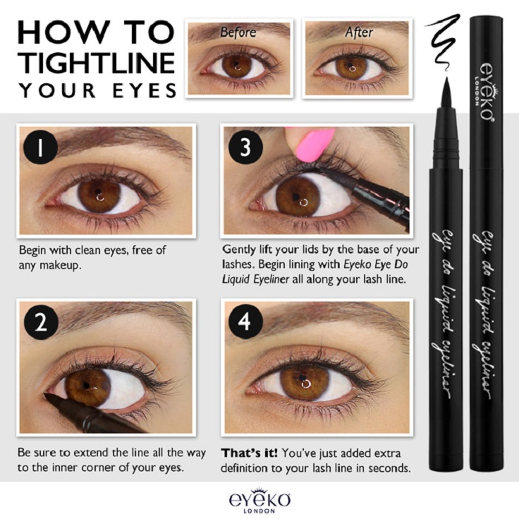 Lining the eyelashes secrets and hacks from best makeup tips and tricks in Pakistan