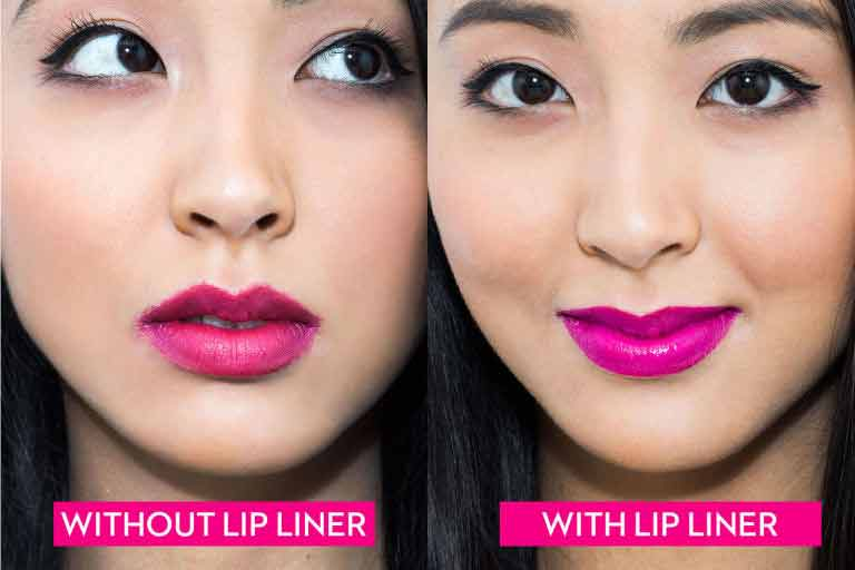 With and without the use of lip liner party makeup mistakes to avoid in Pakistan