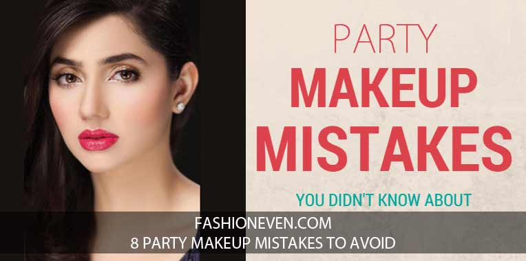 8 Pakistani Party Makeup Mistakes To Avoid In 2020