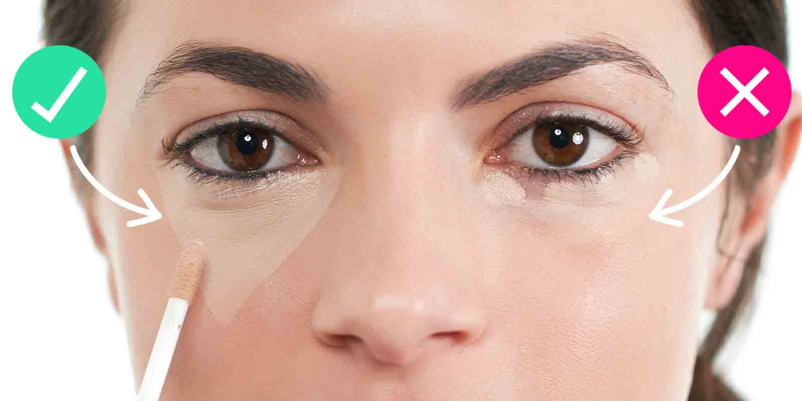 Proper use of concealer party makeup mistakes to avoid in Pakistan
