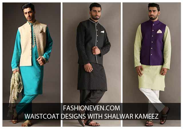 Waistcoat With Kurta Pajama Designs In Pakistan 2018