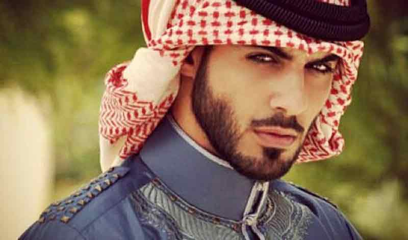 French beard style with extended facial hair for best Arabic beard styles