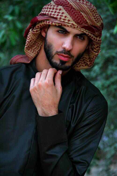 New style thick facial hair for Arabic beard styles