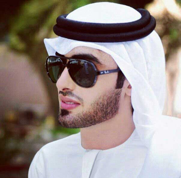 Best short stubble beard style in Arab