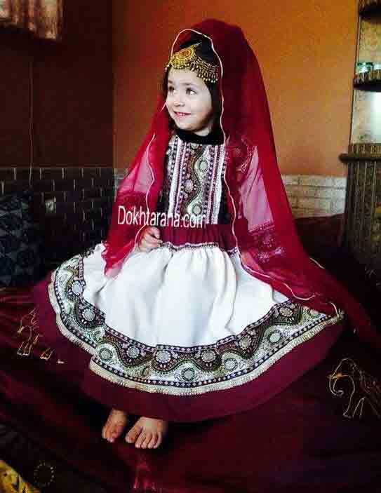 Red and white pathani dresses for baby girls and baby boys 2018