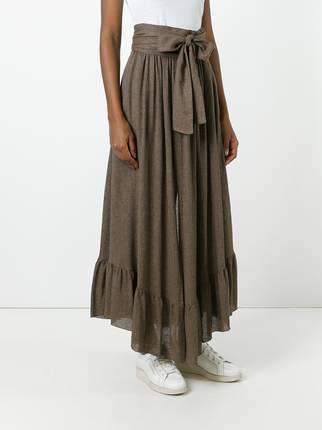 Pakistani bow style long skirts for girls