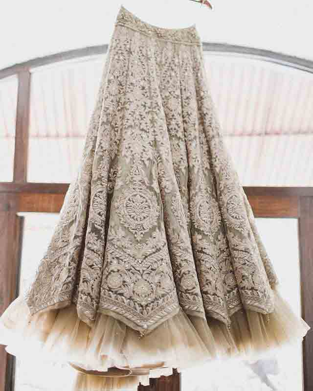 Pakistani fully embroidered long skirts for girls