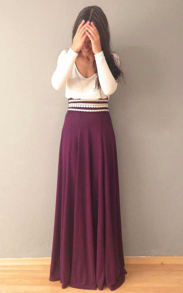 Latest Pakistani Long Skirts For Girls In 2018 | FashionEven
