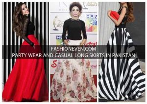 Pakistani party wera and casual long skirts for girls
