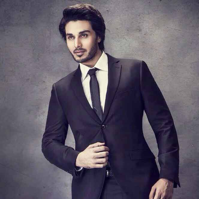 White shirt and black tie combinations with black suits in Pakistan