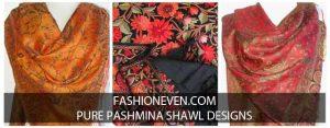 New style ladies pashmina shawls for winter season