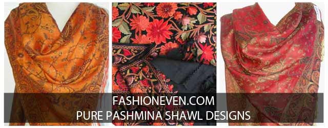 Latest Ladies Pashmina Shawls For Winter 2019