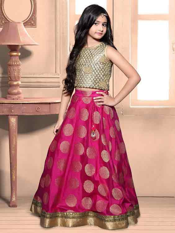 Kids lehnga choli for kids