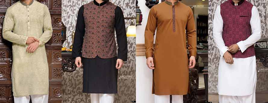 Latest green white black and brown mehndi kurta designs