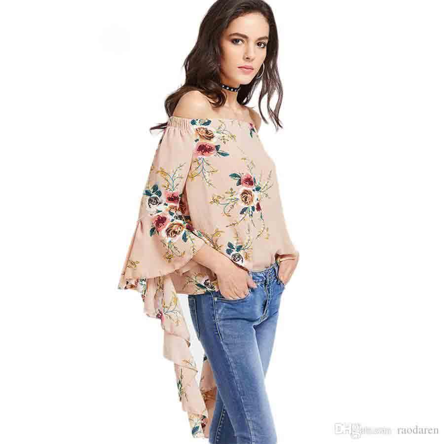 Best Pakistani off shoulder top designs with jeans