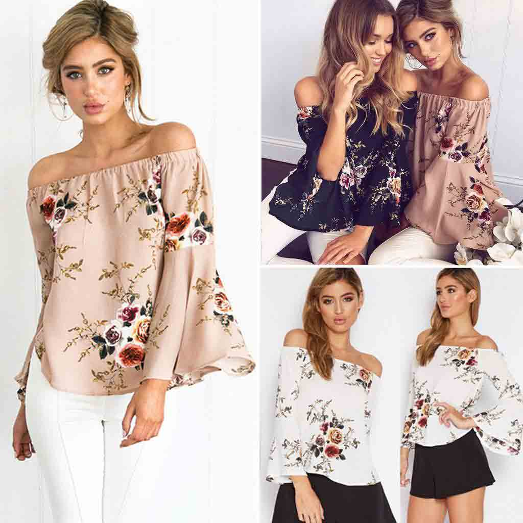 Best off shoulder casual tops and shirt designs for girls