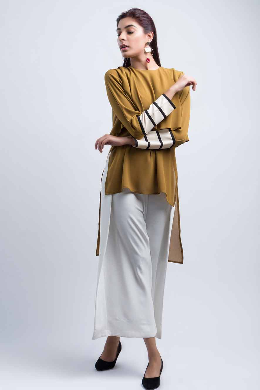 Best Pakistani casual high low shirts for girls