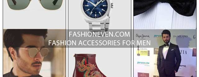 Latest fashion accessories for men in Pakistan
