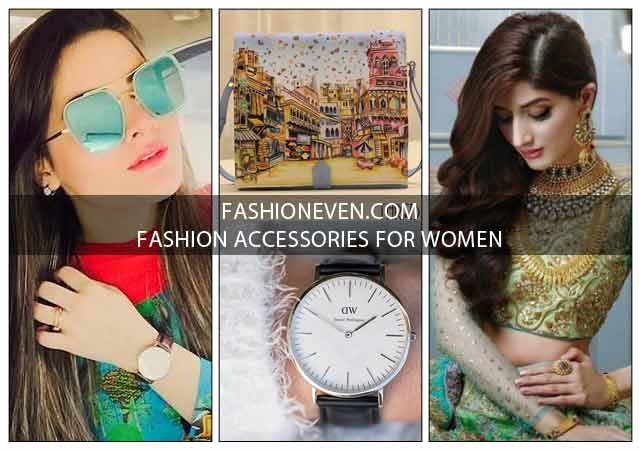 Latest fashion accessories for women in Pakistan