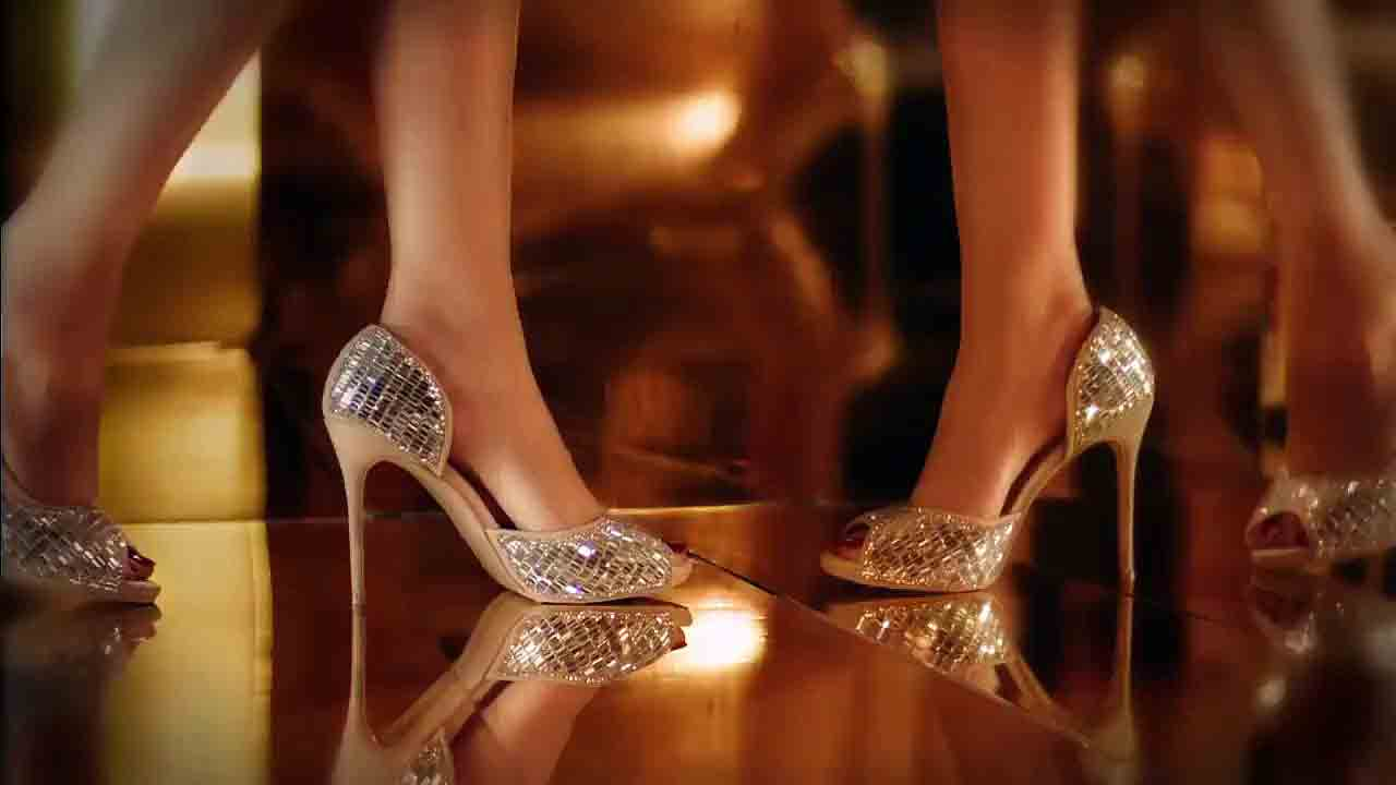 Latest party wear high heels for women in Pakistan