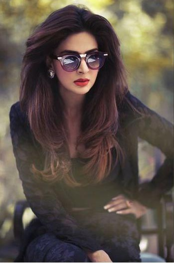 Saba Qamar in sunglasses fashion accessory