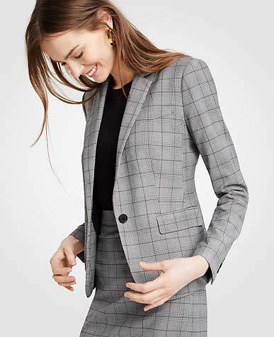 Latest grey business suits for ladies
