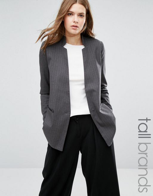 Best grey pant coat formal wear for ladies