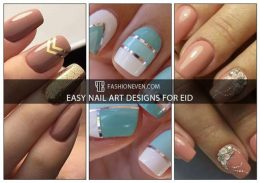 10 Easy Nail Art Designs For Eid To Try In 2018