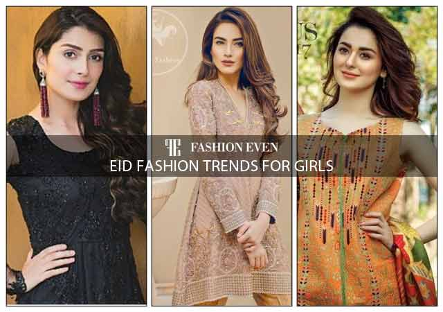 Latest Eid fashion trends for girls