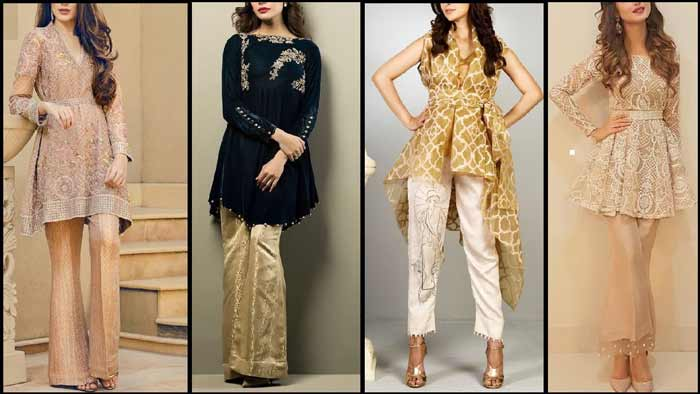 Latest Bootcut trouser designs for girls