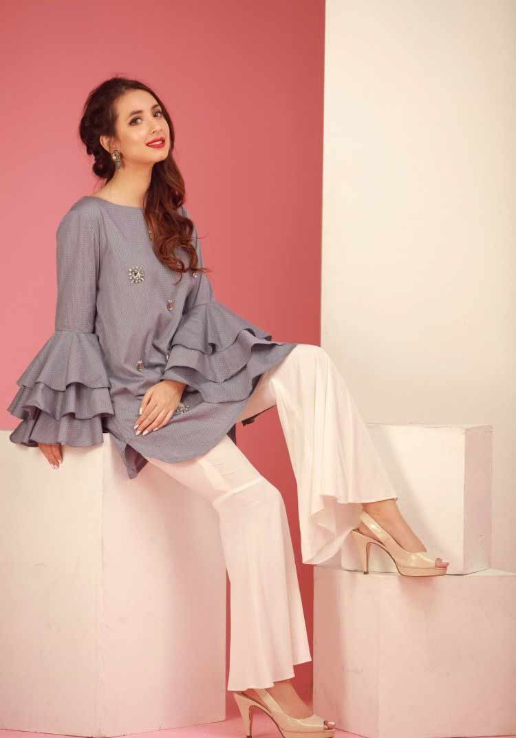 Eid fashion trends for bell sleeves