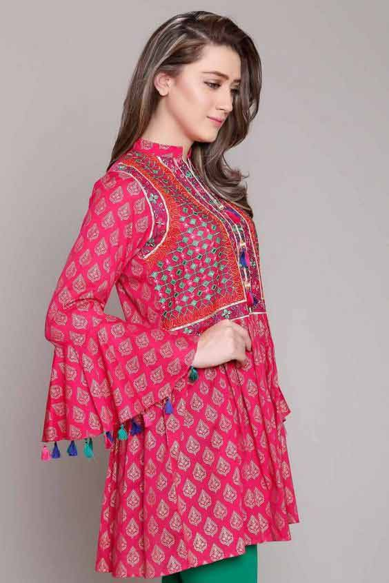 Eid fashion trend of bell sleeves