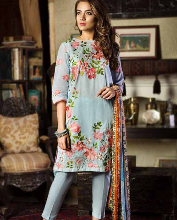 Eid fashion trend for knee length shirt