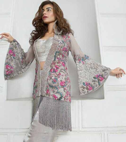 Fancy bell sleeve for Eid party