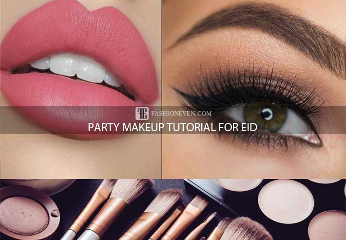Step by step party makeup tutorial for Eid
