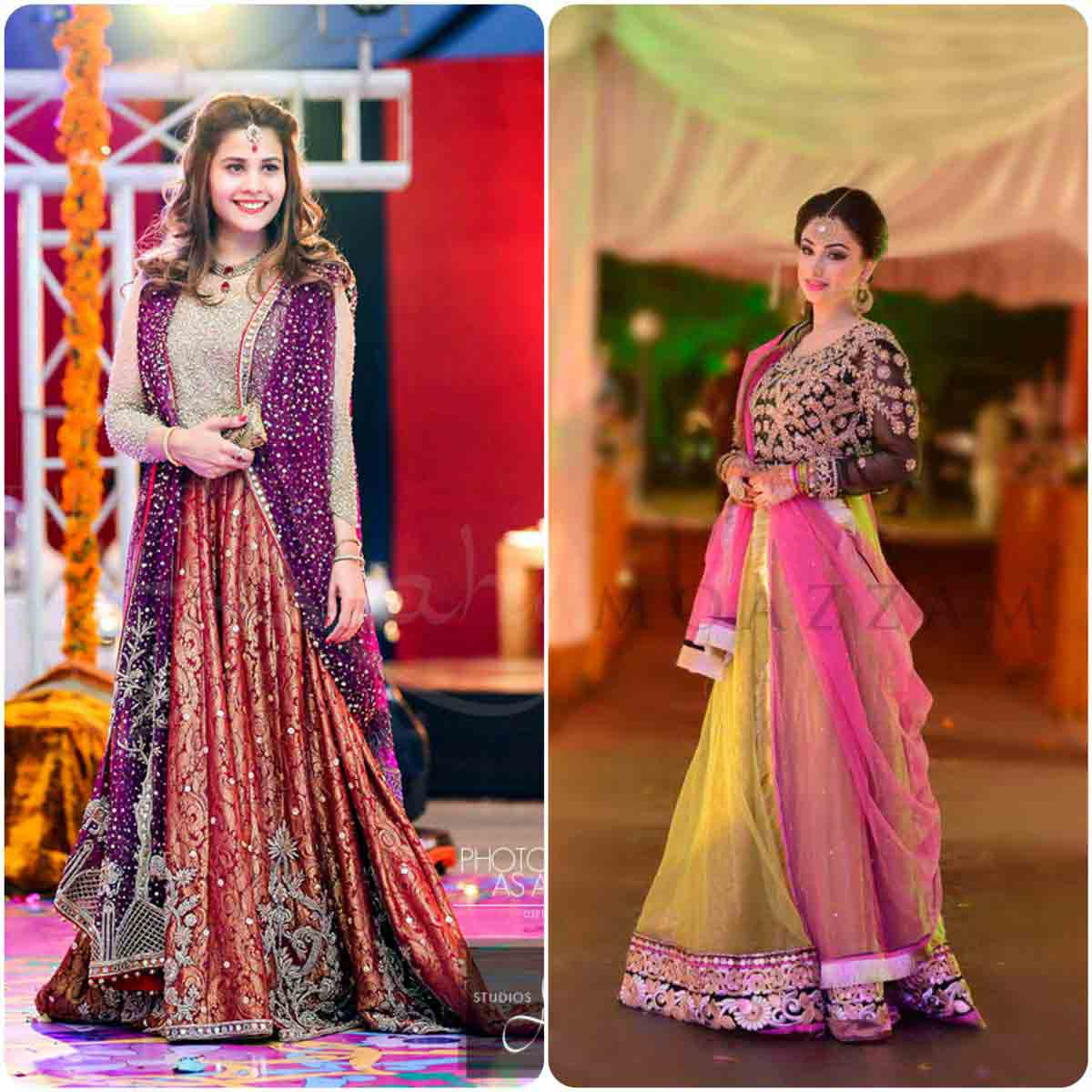 Pakistani lehnga choli designs for pear body