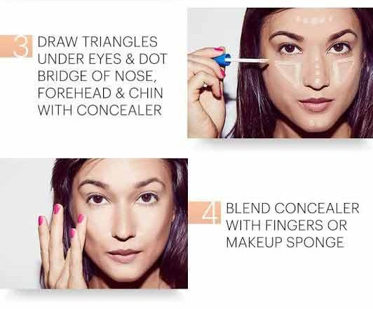 Makeup concealer tutorial for Eid