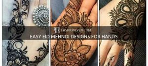 Simple and easy Eid mehndi designs for hands