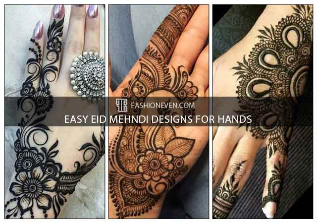 16 Eid Mehndi Designs For Girls In 2021-2022 - Step By Step