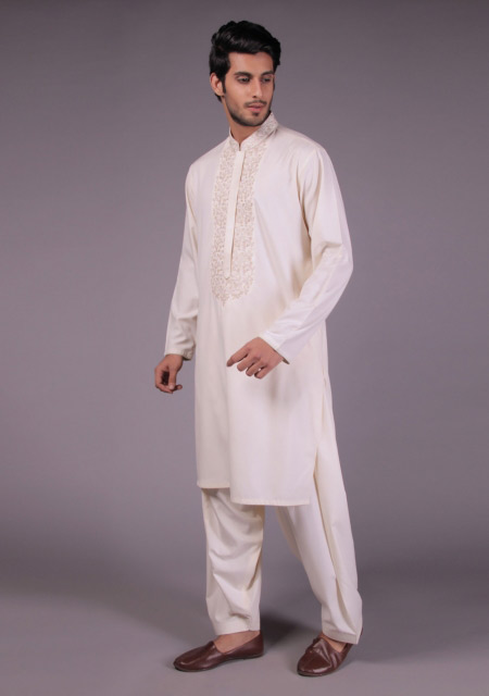 Gents white kurta designs for eid namaz