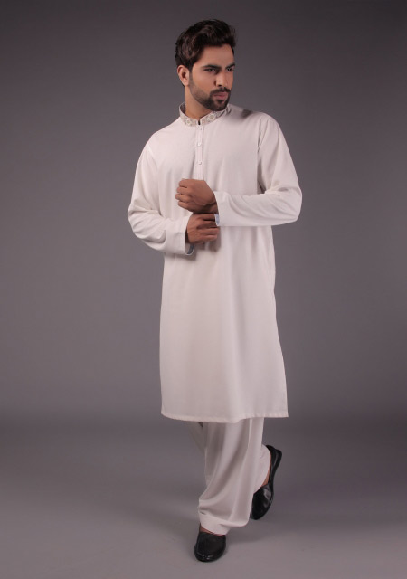 Latest white gents kurta designs for eid namaz