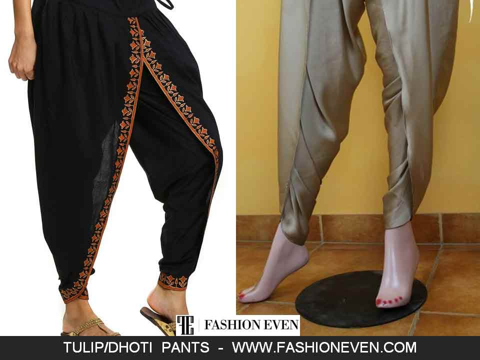Stylish dhoti shalwar designs