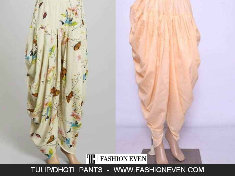 Tulip shalwar with pleats designs in Pakistan