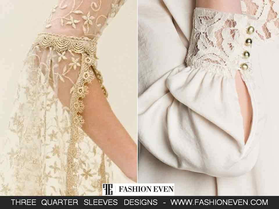 Net and cuff sleeves designs in Pakistan