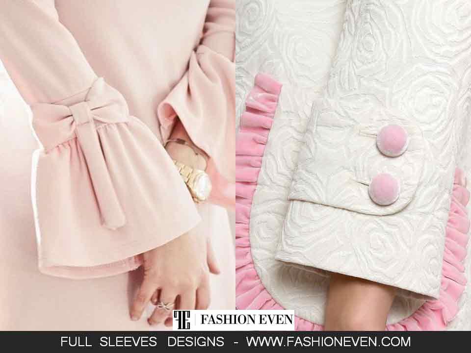 Beautiful sleeves designs in Pakistan
