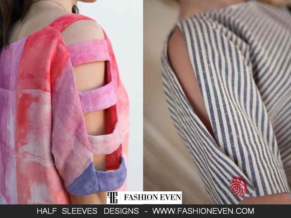 Beautiful peekaboo sleeves designs in Pakistan
